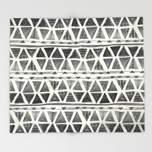 Geometric Minimalist Throw Blanket | Home Decor  and Gifts shop
