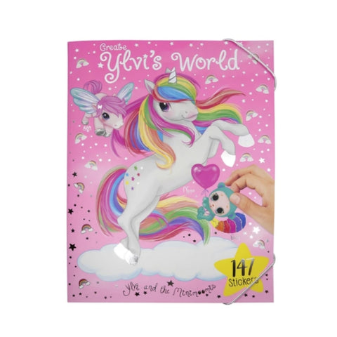 Ylvi's World Colouring and Sticker Book