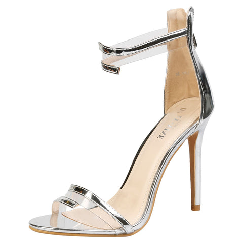 Alora Slingback Pumps in Beige Nude Faux Leather