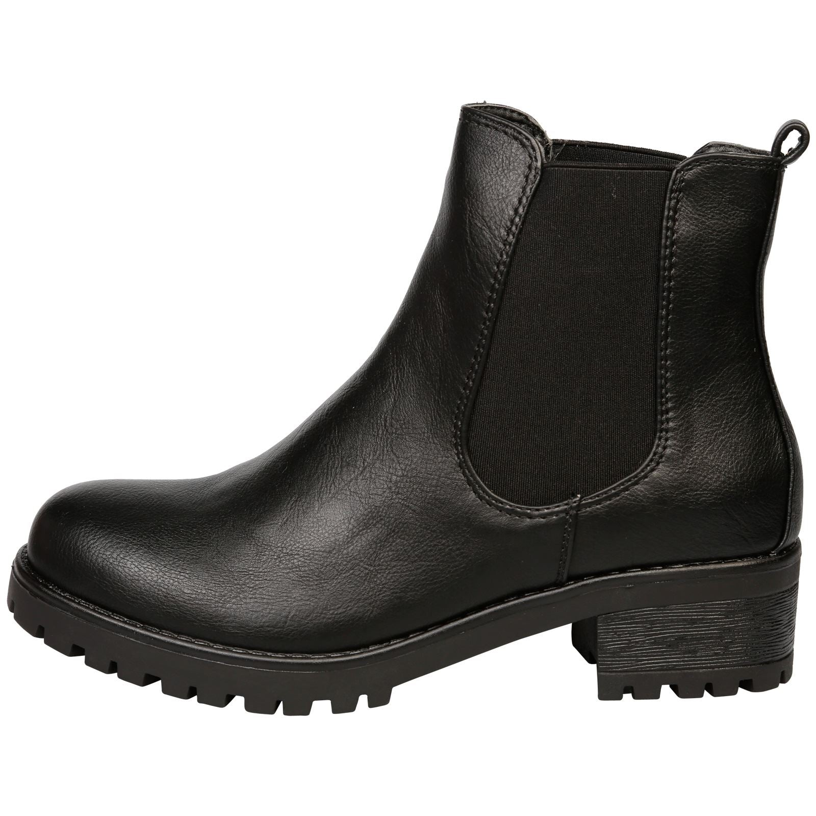 Adrienne Chelsea Ankle Boots  in Black - Feet First Fashion
