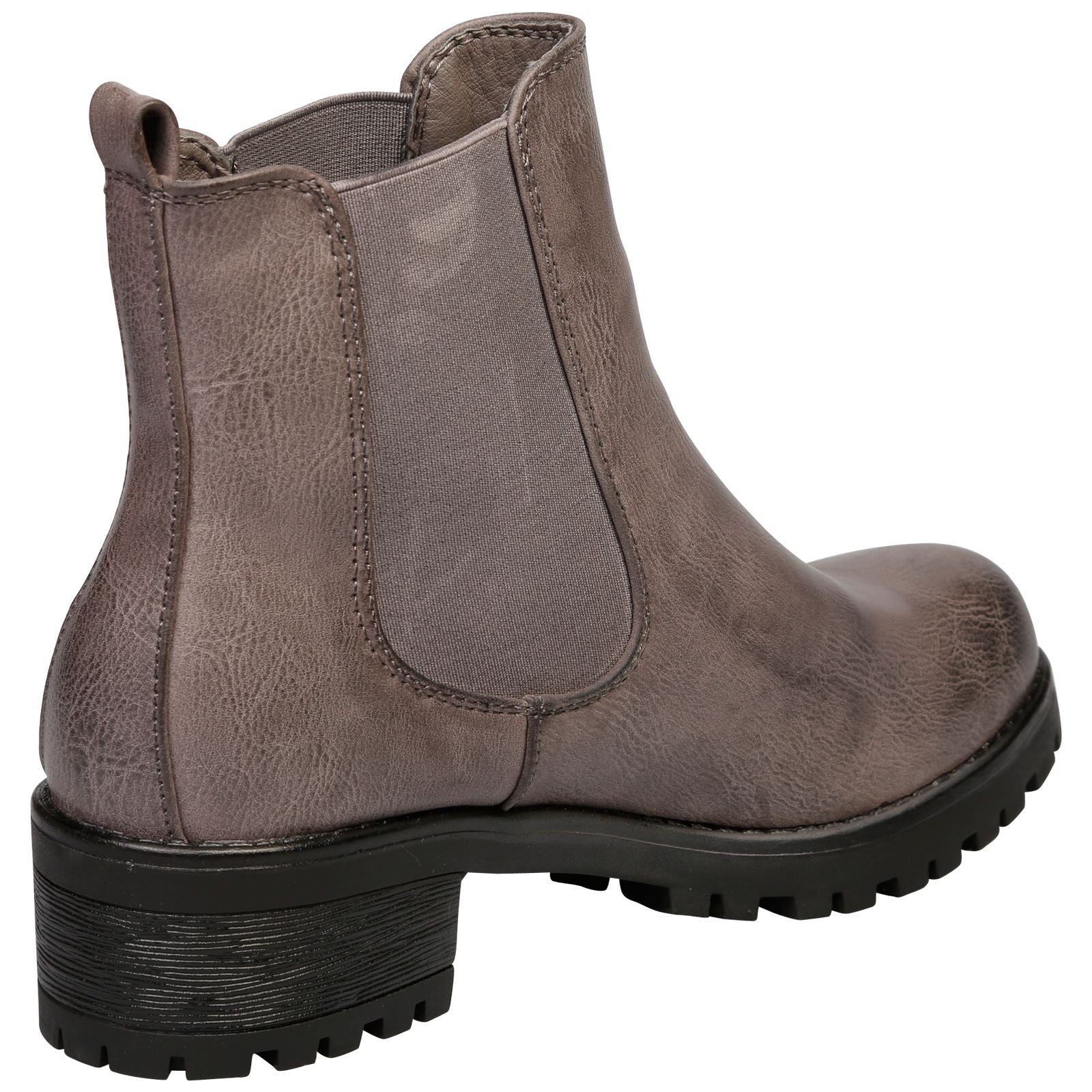 Adrienne Chelsea Ankle Boots  in Grey - Feet First Fashion