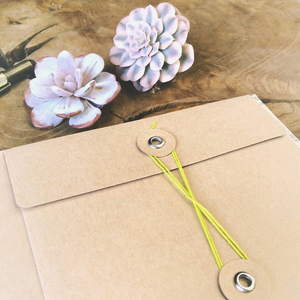 Linen-Bound Succulent Journal (only 6 left)