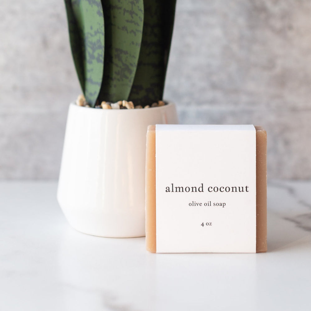 Almond Coconut Handcrafted Soap (by Roote)