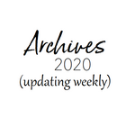 Archives- A Look Back at Our Past Offerings so Far This Year