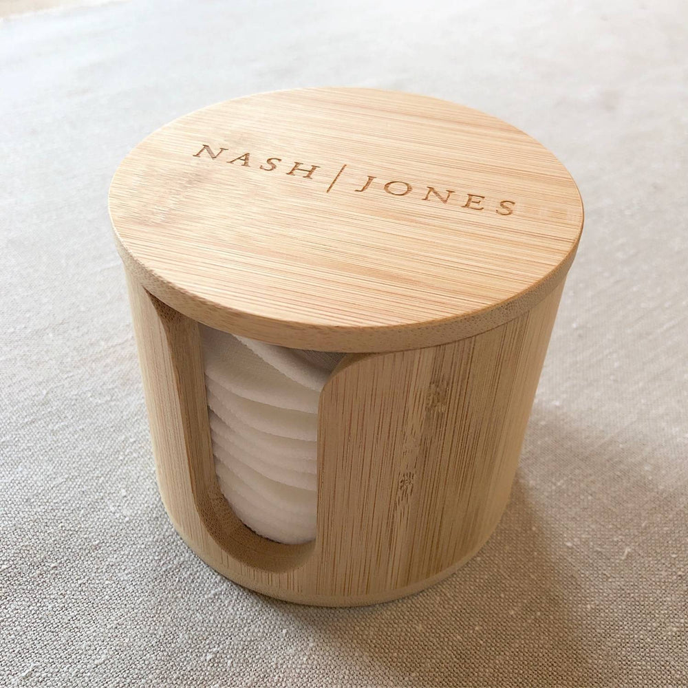 Bamboo Nest for Cleansing Rounds (by Nash + Jones)