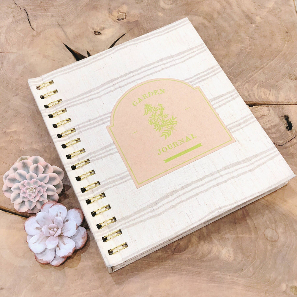 Linen-Bound Succulent Journal (only 5 left)