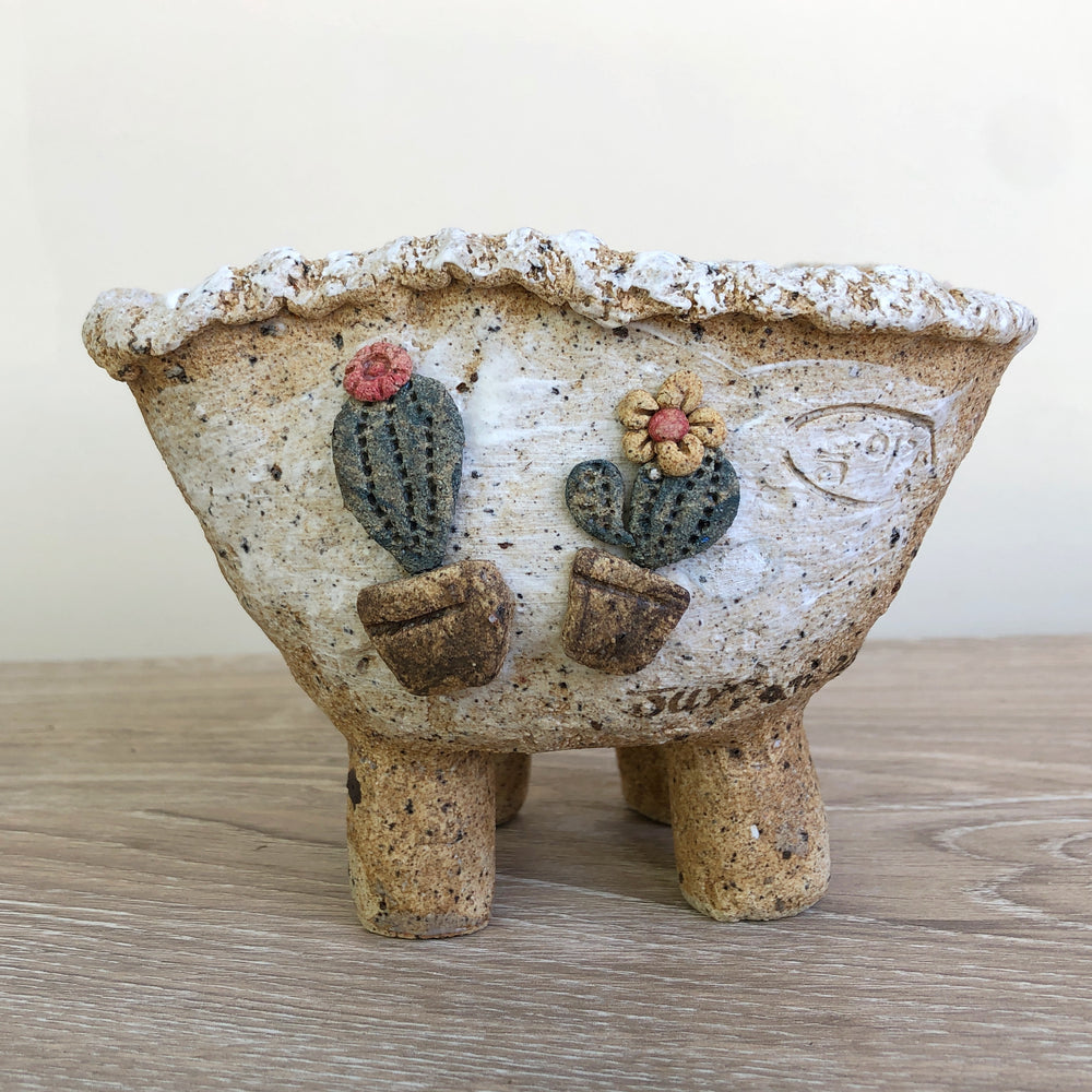 Handcrafted Succulent Planter (by Jurian)