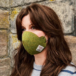 COMING SOON! Harris Tweed® Face Covering (Moss Green)