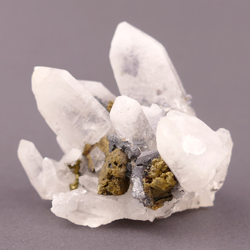 Milky Quartz with Galena Inclusions