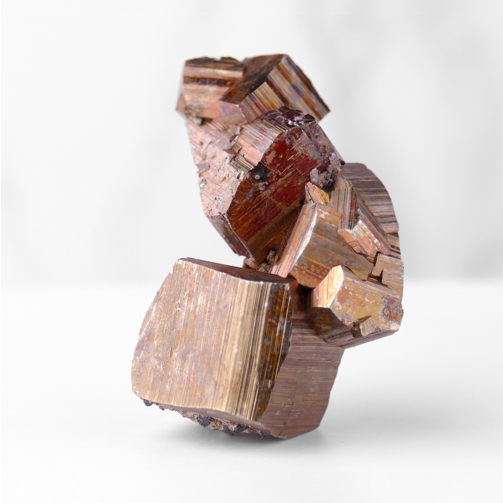 Stacked Pyrite, Iron Oxide