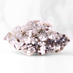 JUST CART #21- Quartz with Calcite and Chalcopyrite