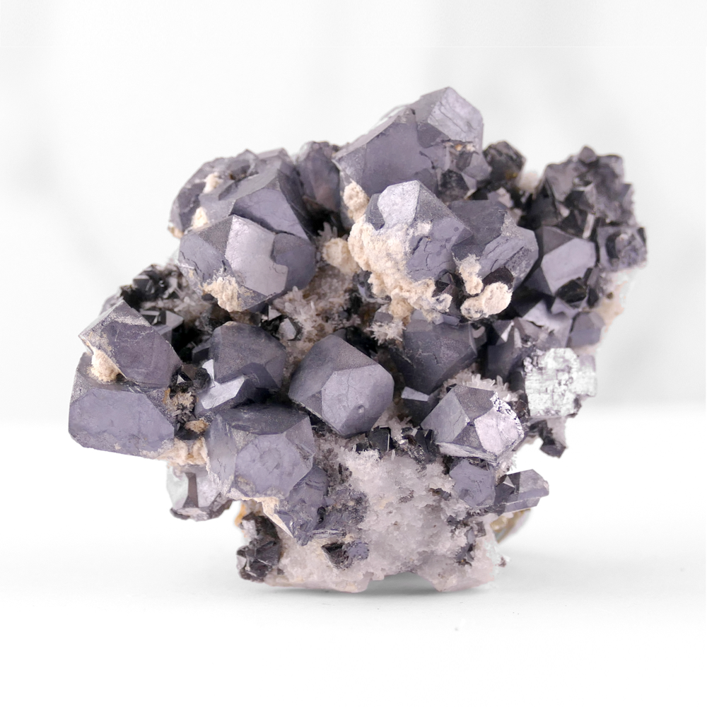 Galena with Quartz and Sphalerite
