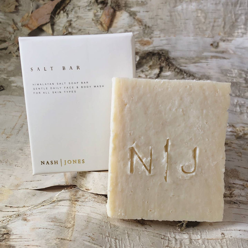 Unscented Himalayan Salt Handcrafted Soap