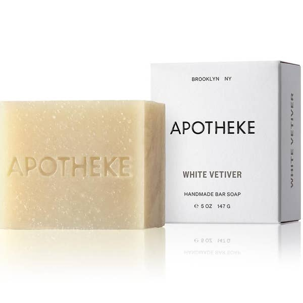White Vetiver Bar Soap (by Apotheke)