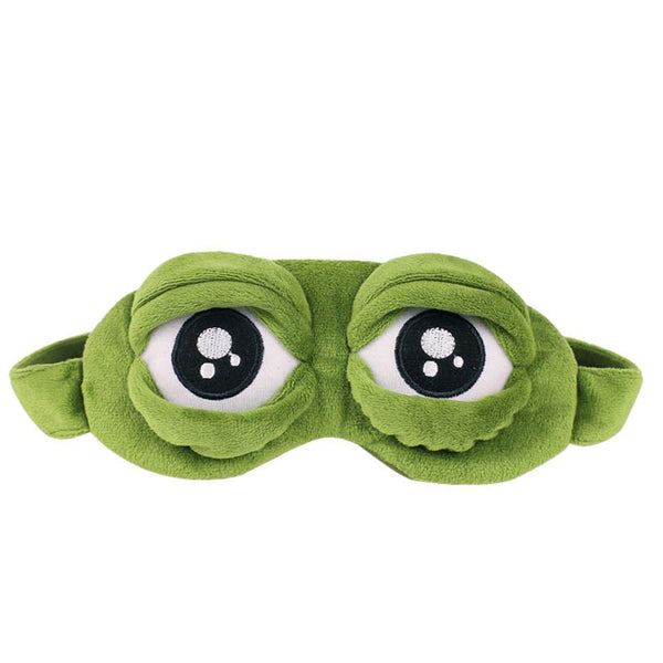 Cute frog eye mask