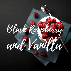 Black Raspberry and Vanilla Candle