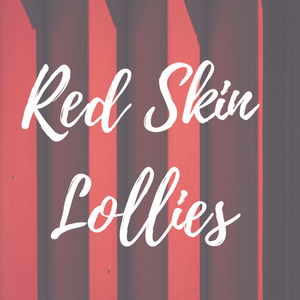 Red Skin Lollies Candle