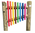 Multicoloured Chimes - 8 Bars