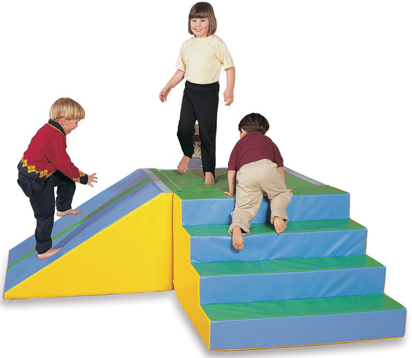 Soft Play Slope / Slide with Wood Core