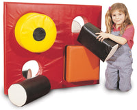 PE081 - Soft Play Shape-Sorter Panel