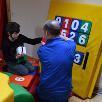 Soft Play Number Panel