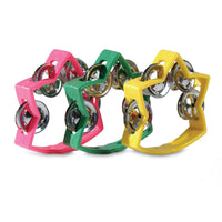 Coloured Star Tambourine