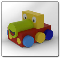 Soft Play Train Puzzle