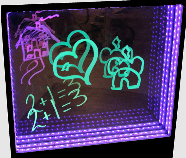 SE782 - UV Glow Write Wall Panel