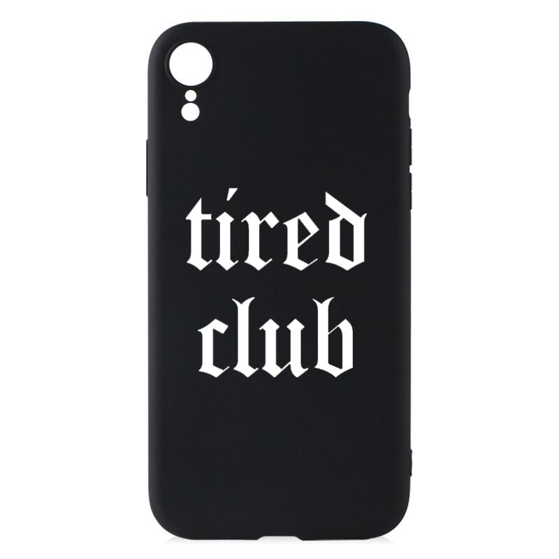 Tired Club Phone Cover