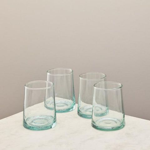 set of four tumblers