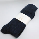 ALPACA SOCKS, NAVY