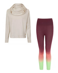 Home Yogi leggings + snuggly sweat