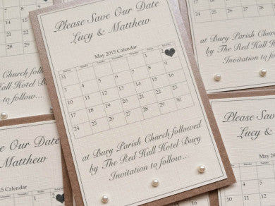 Mini Calendar & Pearls