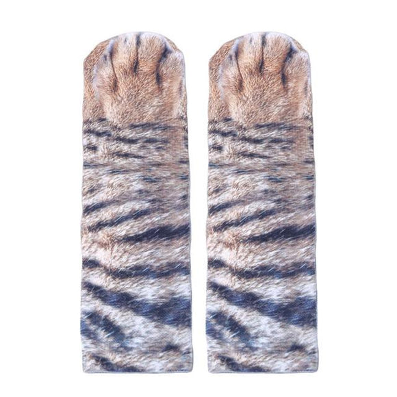 3D Animal Paw Print Socks