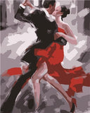 Paint By Number Tango  Canvas
