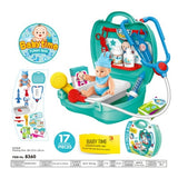 Kids Pretend Playsets - 22 Types For Children's Imaginary Play (Kitchen, Builder, Beauty, Food, Nurse, Baby, Doctor, Pet Plastic Toy Sets)
