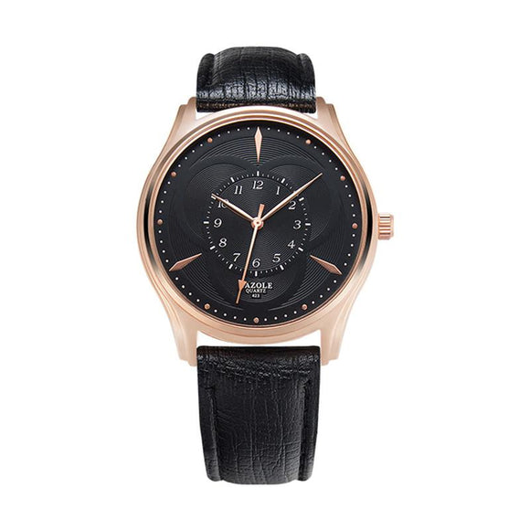 Modern Luxury Leather Men and Women's Dress Watch