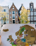 Scratch Your Travels™ Watercolor Map - European Edition