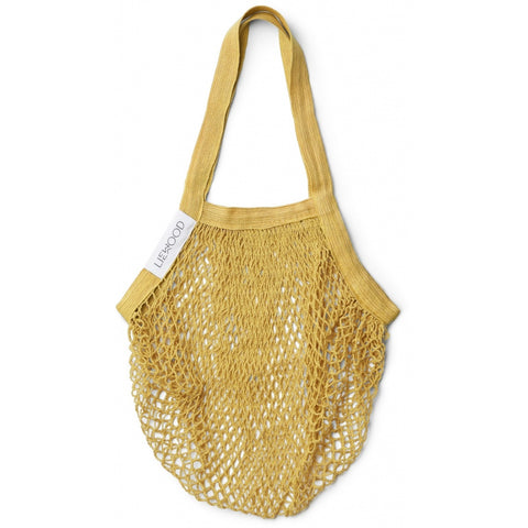 LIEWOOD - sac filet au crochet de coton biologique Yellow Mellow