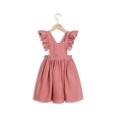 ROE & JOE - Robe en lin corail Dusty Coral