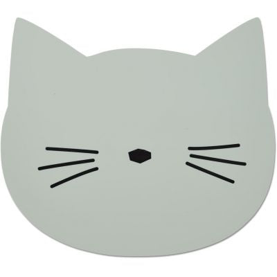 Aura le set de table en silicone Chat mint