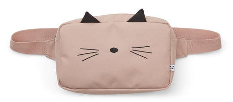 LIEWOOD - Sac banane enfant Chat rose