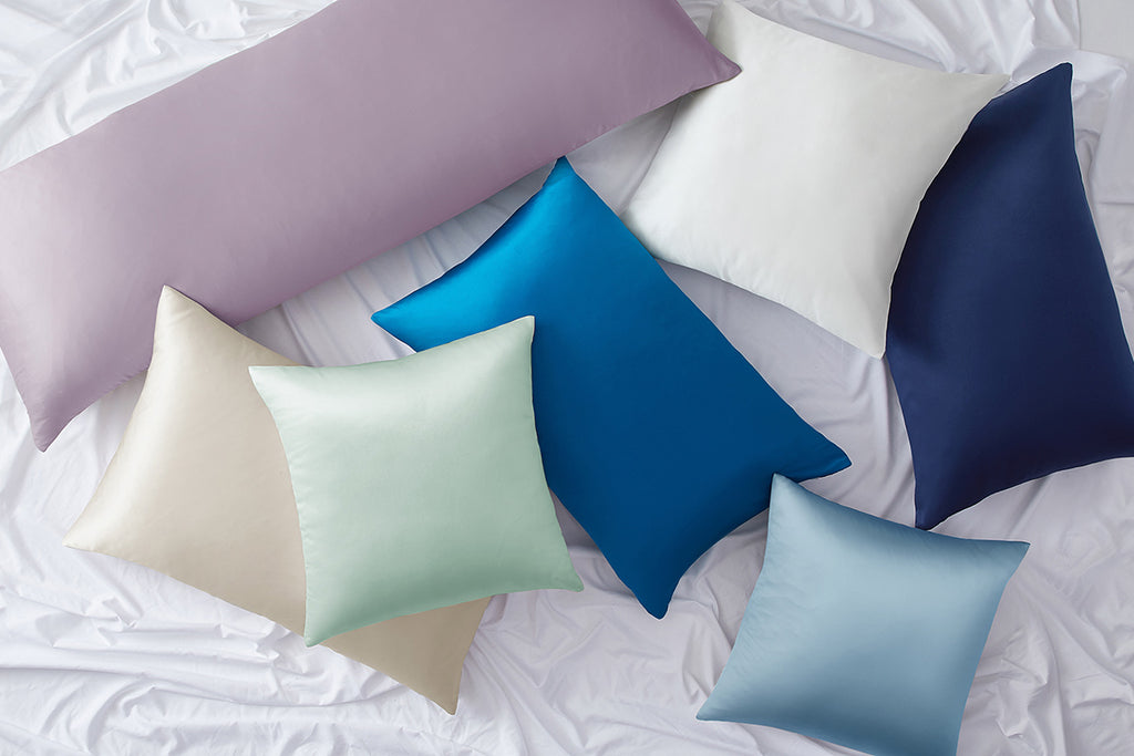 Mellanni's Silk Pillowcases come in a range of sizes and colors to suit your personal style
