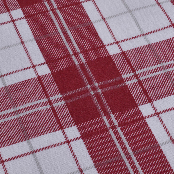 Burgundy Plaid