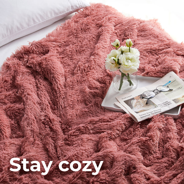 Shaggy Duvet Cover Set