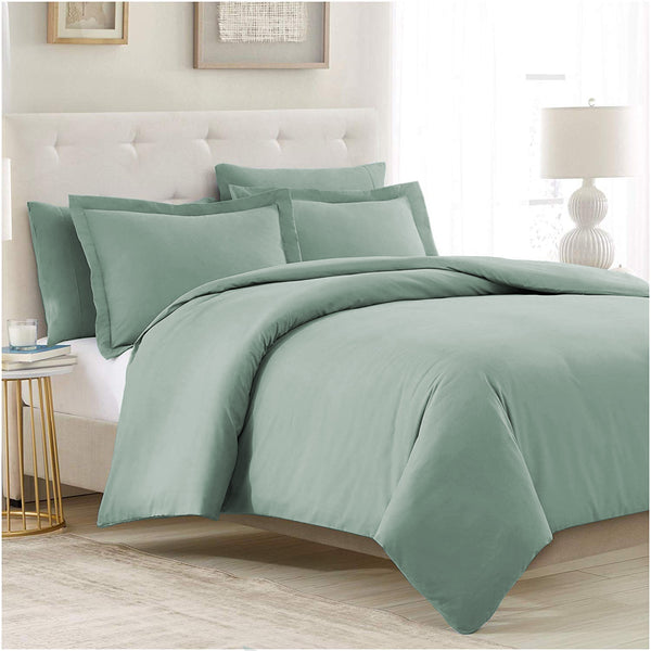 Spa Blue Duvet Cover Set