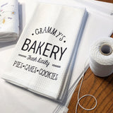 Kitchen Towels with Grammy's Bakery- Fresh Daily- Pies, Cakes, Cookies