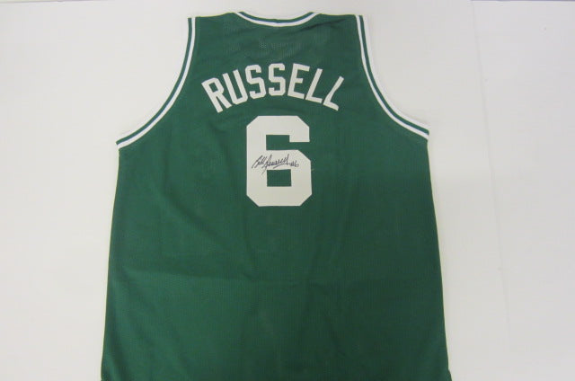 pick up bc22e 5b211 Bill Russell Signed Boston Celtics Jersey (COA) 11x NBA Champion / 12x All  Star Center