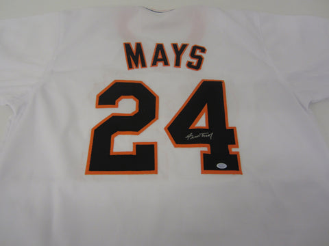 Willie Mays Signed San Francisco Giants Jersey / The Say Hey Kid / 24x All Star