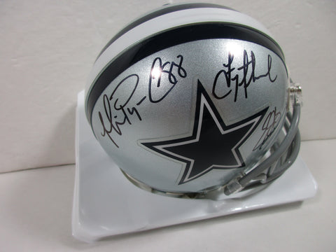 The Big 3 / T. Aikman, E. Smith, & M. Irvin, Signed Cowboys Mini Helmet / COA